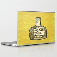 lawyer Laptop & iPad Skins featuring Face Jug by Huiskat