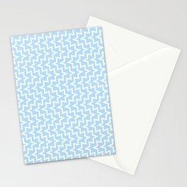 Sea Urchin - Light Blue & White #512 Stationery Cards