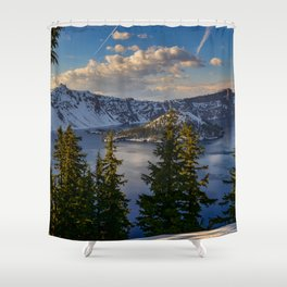 Crater Lake - Spring Shower Curtain