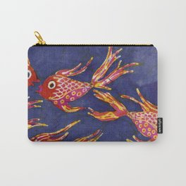Goldfish batik Carry-All Pouch
