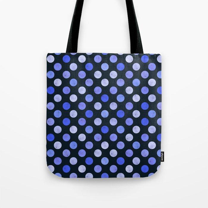 Watercolor Dots Pattern X Tote Bag