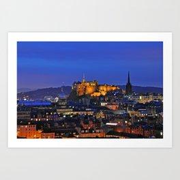 Edinburgh Caste Art Print