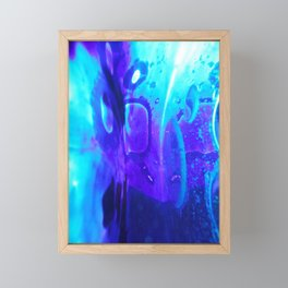 Blobs 7 Framed Mini Art Print
