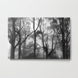 The Clearest Way into The Universe is Through a Forest Wilderness Metal Print