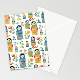 Russian Nesting Dolls Stationery Cards