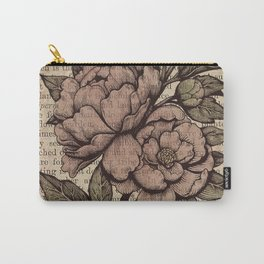 Peonies  - Color Carry-All Pouch