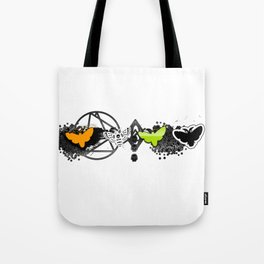 Hollow Fly Tote Bag