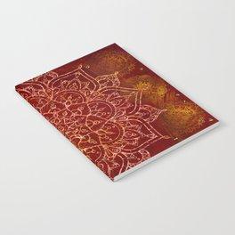 Rust Red Mandala Notebook