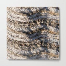 Natural layers Metal Print