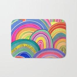 Rainbow Fever Bath Mat