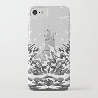 yellow submarine iPhone & iPod Cases featuring Yellow Submarine by Inquietto