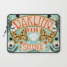 Darling You Shine Laptop Sleeve