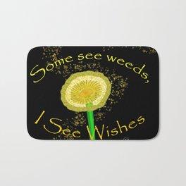 I See Wishes Bath Mat
