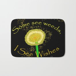 I See Wishes Bath Mat