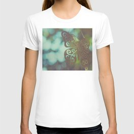 Bokeh With Butterfly Wings T-shirt
