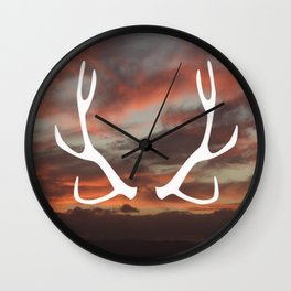 The stag of the North Wall Clock
