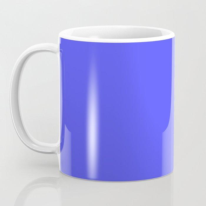 Bright Fluorescent Neon Blue Coffee Mug