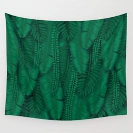 Tropical Garden Wall Wall Tapestry