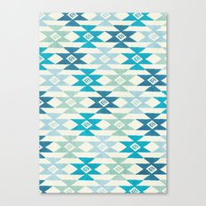 Triaqua Canvas Print