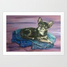Tea-Cup Chihuahua Art Print