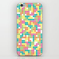 tetris iPhone & iPod Skins featuring Tetris by Alisa Galitsyna
