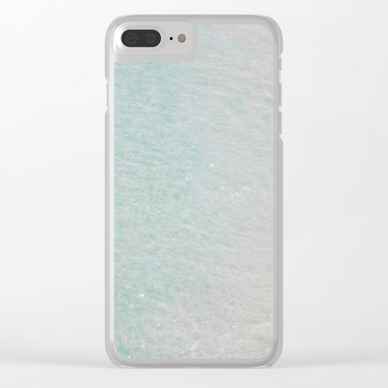 beach - summer of love II Clear iPhone Case