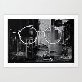 4 eyez Art Print