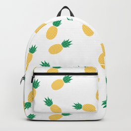 PINEAPPLE ANANAS FRUIT FOOD PATTERN Backpack