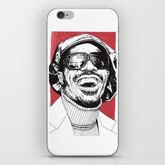 Stevie Wonder iPhone & iPod Skin