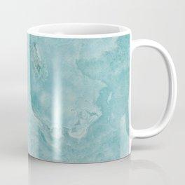 Turquoise marble Coffee Mug