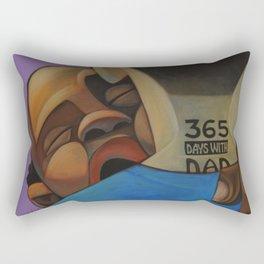 365 Days With Dad Rectangular Pillow