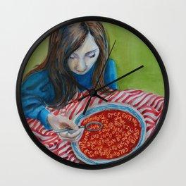 Soup Wall Clock