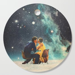 I'll Take you to the Stars for a second Date Cutting Board