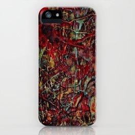 Encaustic Series - Veins & Organs iPhone Case