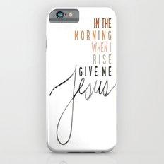 Jesus iPhone 6 Slim Case