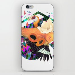 PAPAYA by Carboardcities and Kris tate iPhone Skin