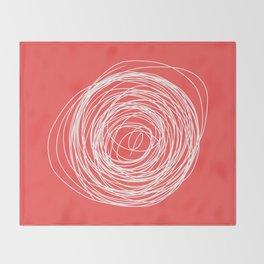 Nest of creativity Throw Blanket