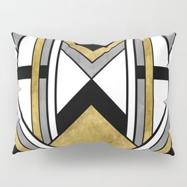 Up and Away - Art Deco Spaceman Pillow Sham