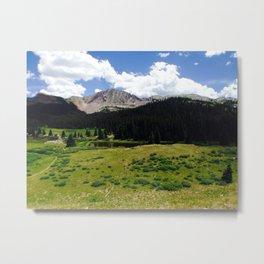 Mountains 5 Metal Print
