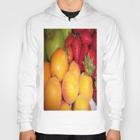 fruits Hoodies featuring Fruits by EnelBosqueEncantado