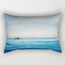 The fishermen Rectangular Pillow