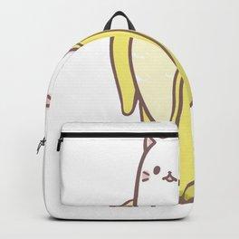 Cat Banana ) Backpack