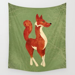 Foxing Around Wall Tapestry
