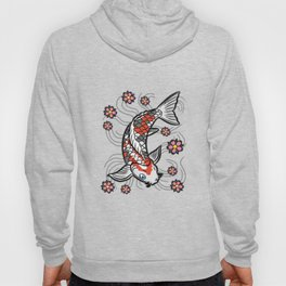 Abstract koi Hoody