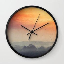 I burn for you Wall Clock