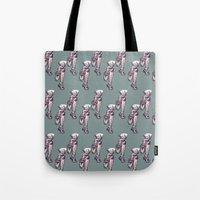 run Tote Bags featuring Run by Ursula Rodgers