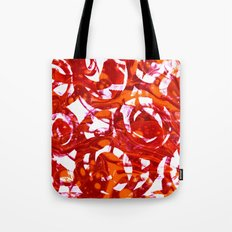 orange fusion Tote Bag