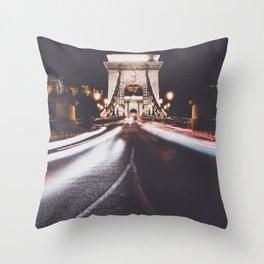 Chain Bridge 2 Throw Pillow