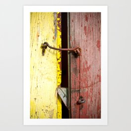 Red and Yellow 2 Art Print