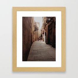 Gotico Framed Art Print